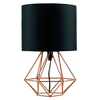 Lampe de table design acier