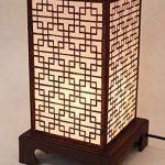 Lampe de chevet papier de riz