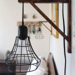 Lampe de chevet suspendues