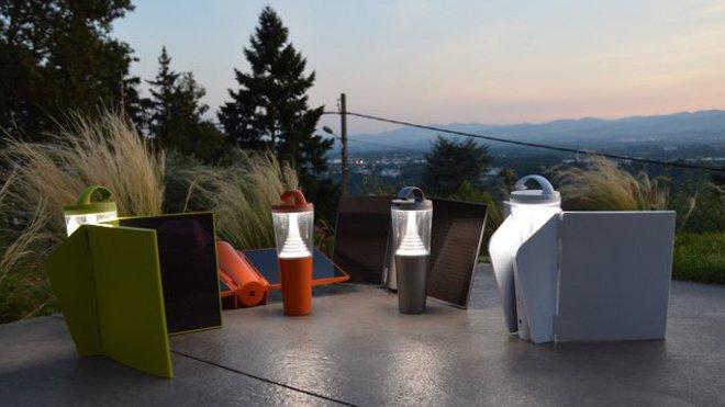 Lampe led solaire design