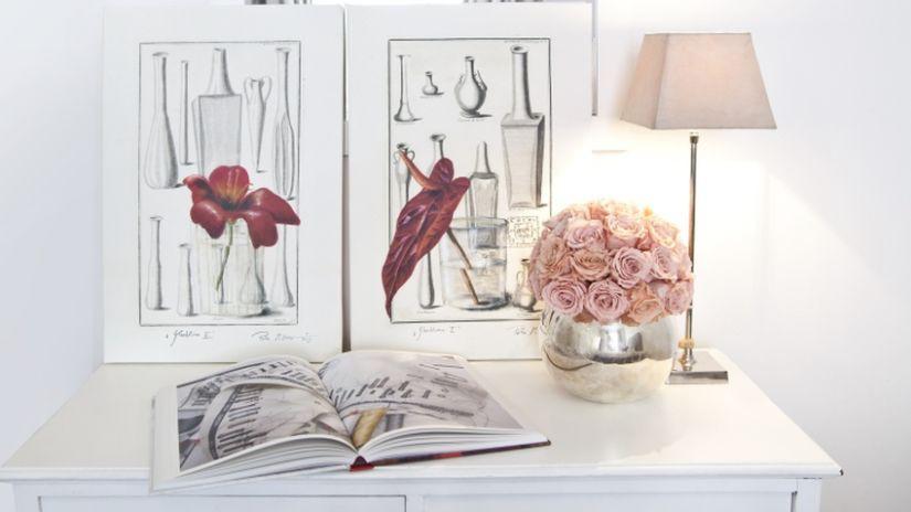 Abat jour lampe de chevet rose