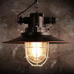 Fabriquer un lampadaire industriel