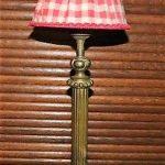 Lampe de chevet laiton ancienne