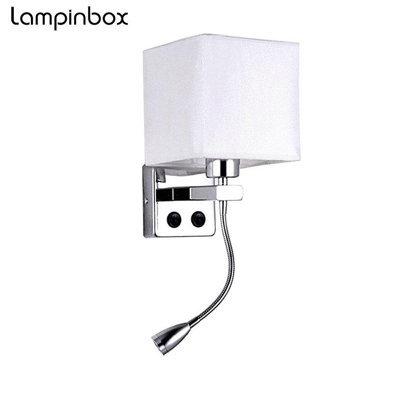 Lampe de chevet avec flexible