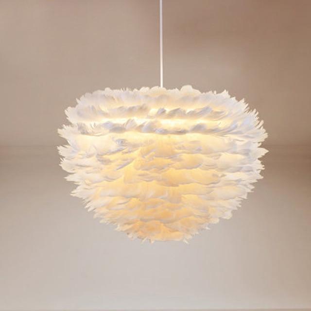 Lampe plume design