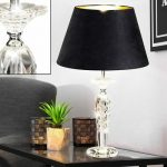 Lampe de table en verre design
