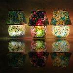 Lampe de chevet mosaique