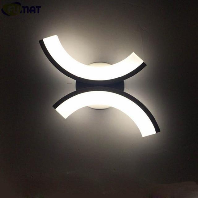 Applique à led design carré lampe murale moderne lampe de corridor chromée 29113