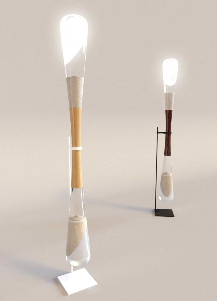 Lampe écologique design