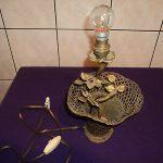 Lampe de chevet bronze