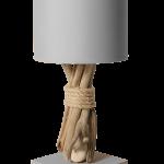 Lampe de chevet bois original
