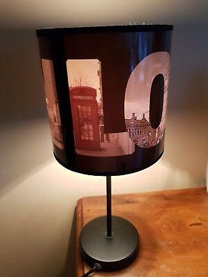 Lampe de chevet theme angleterre