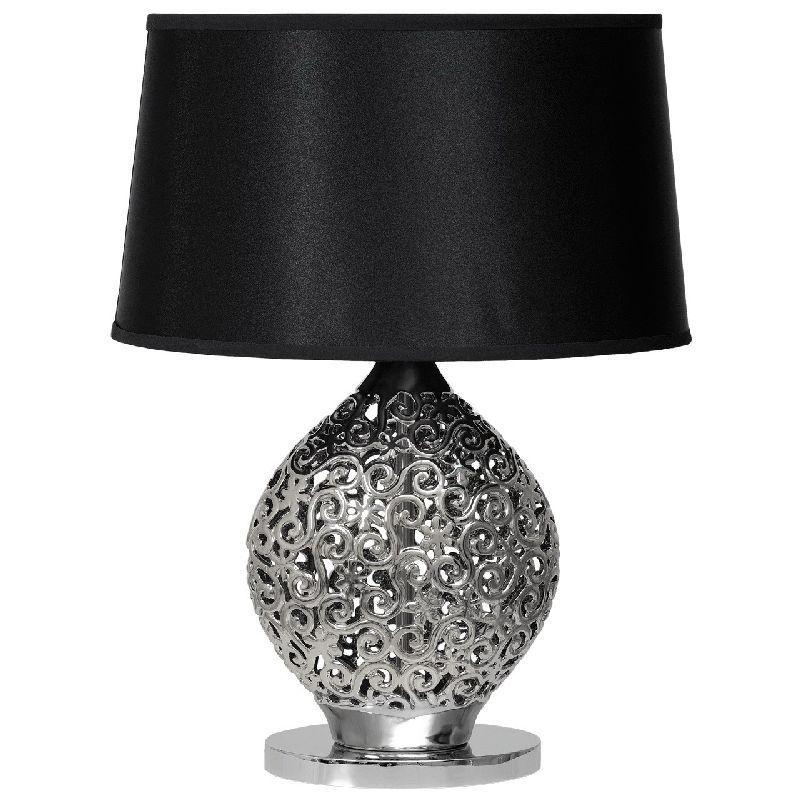Lampe de chevet noire et blanche - Design en image