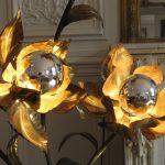 Lampe fleur design 70