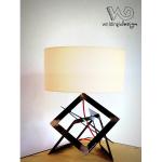 Lampe acier design