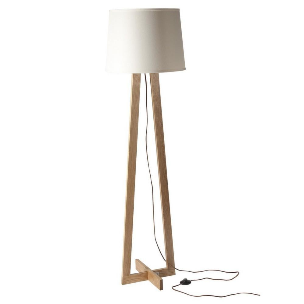 Pied de lampadaire exterieur blanc