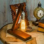 Lampe de chevet avec ampoule edison