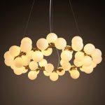 Lampe design a bulle