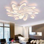 Lampe plafond salon design