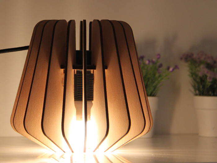 Une lampe design