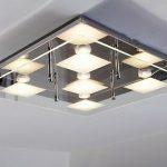 Lampe design carré