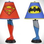 Lampe de chevet batman lego