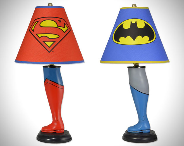 Lampe de chevet batman lego