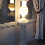 Lampe de chevet colonne