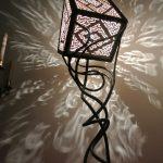 Lampe design en fer