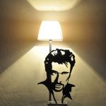 Lampe de chevet johnny hallyday