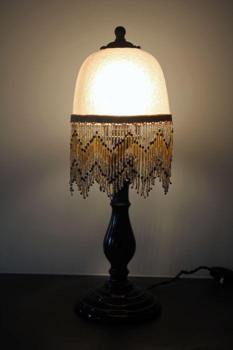Lampe de chevet pampilles