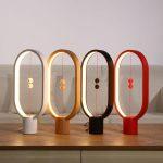 Lampe magnétique design