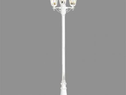 Comment fixer un lampadaire exterieur