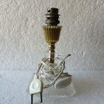 Pied de lampe de chevet doré