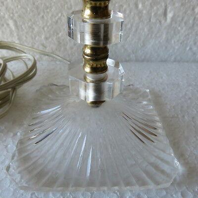 Lampe de chevet plastique transparent