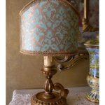 Abat jour ancien lampe de chevet