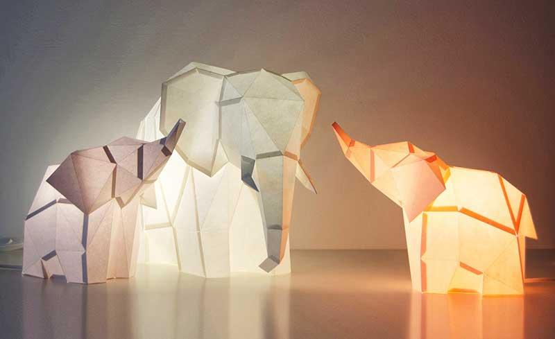Lampe design animaux