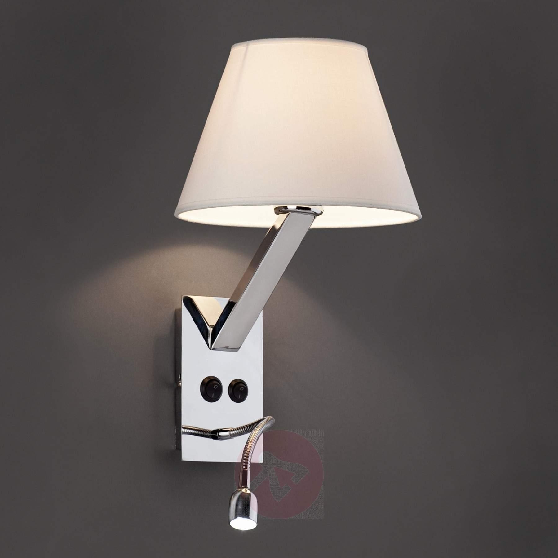Lampe de chevet murale flexible