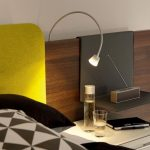 Lampe tete de lit design