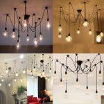 Lampe design araignee