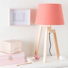 Lampe de chevet coloré
