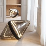Lampe à poser au sol design