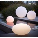 Lampe solaire de jardin design