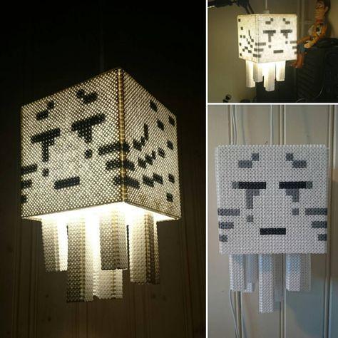 Design lampe minecraft