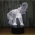 Lampe de chevet éléphant