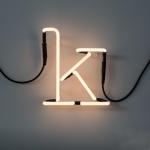 Lampe néon design