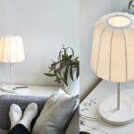Ikea lampe de chevet chargeur