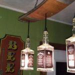 Comment faire une lampe de chevet avec une bouteille en verre