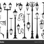 Lampadaire silhouette