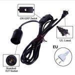 Cable electrique pour lampe de chevet